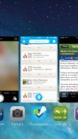 Luk flere apps på én gang med iOS7