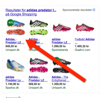 Product listing ads (PLA) trick