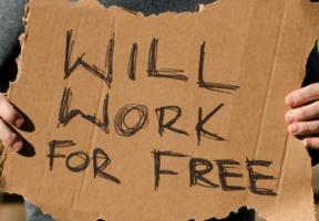Arbejde gratis