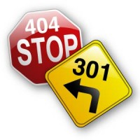 301 redirect vs 404 error